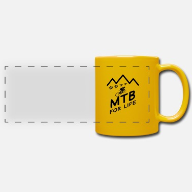 Bike Bike Mountain Bike Mountain Bike Mountain Bike MTB - Panoramic Mug