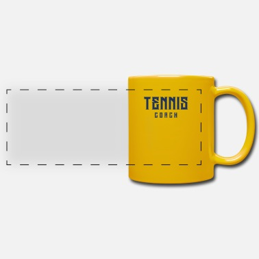 Tennis Trainer Instructor Instructor Coach Tennis Instructor Tennis Trainer - Panoramic Mug