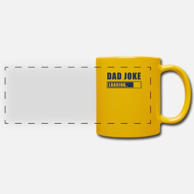 Jokes Dad Joke - Panoramic Mug