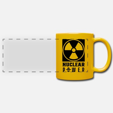 Nuclear Energy nuclear power nuclear energy nuclear power atomic energy - Panoramic Mug