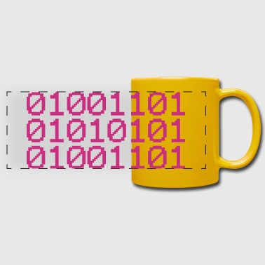 BINARY MUM - Full Color Panoramic Mug