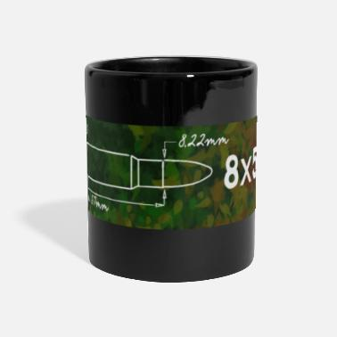 Caliber Caliber shirt 8x57 IS for hunters and shooters - Panoramic Mug