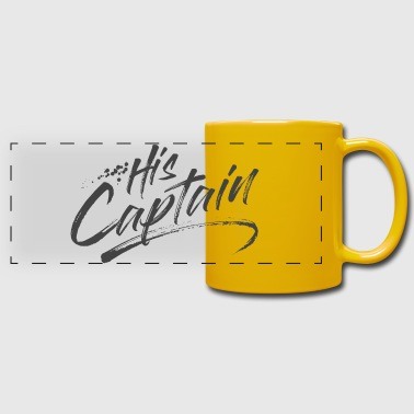 His Captain - Full Color Panoramic Mug