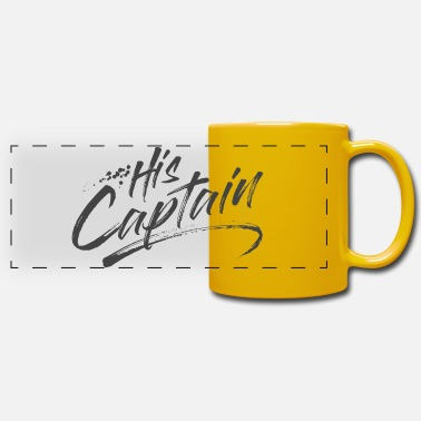 His Captain - Tazza panoramica