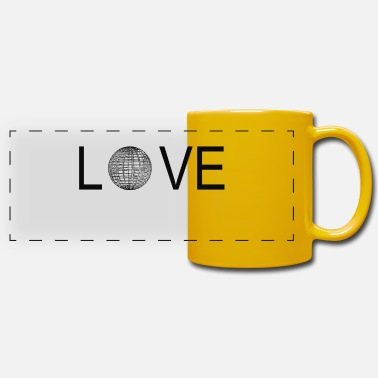 Parametric love parametric design - Panoramic Mug