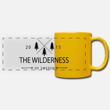 Wilderness The Wilderness Of Sweden - Panoramic Mug