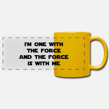 The Force I am one with The Force - Tazza panoramica