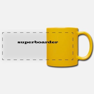 Boarders super boarder - Panoramic Mug