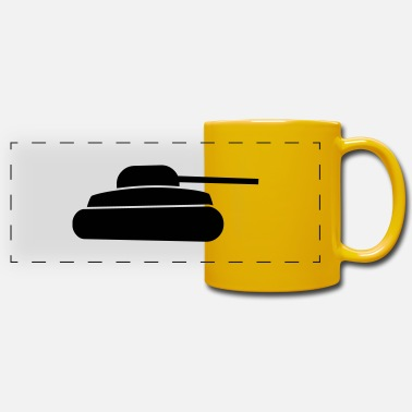 Army tank - Panoramic Mug