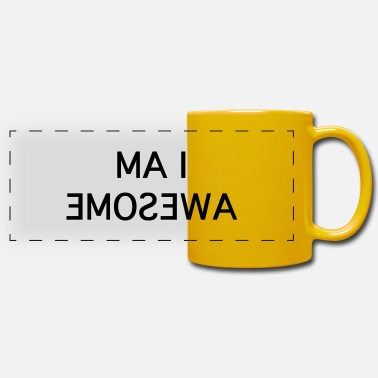I Am Awesome i am awesome - Panoramic Mug