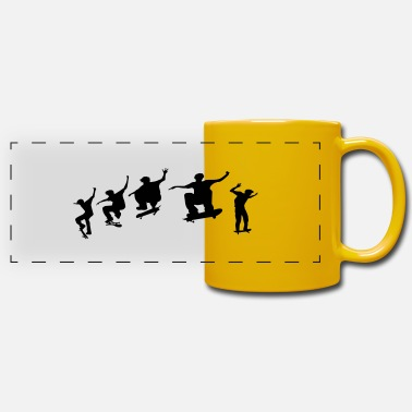 Skateboard skateboard - Panoramic Mug