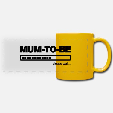 Mum To Be mum-to-be - Panoramic Mug
