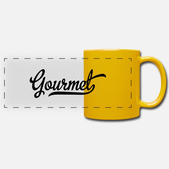 Foodie Mugs & Drinkware - Gourmet - Panoramic Mug sun yellow