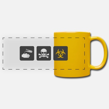 Acide Caution Acid - Mug panoramique