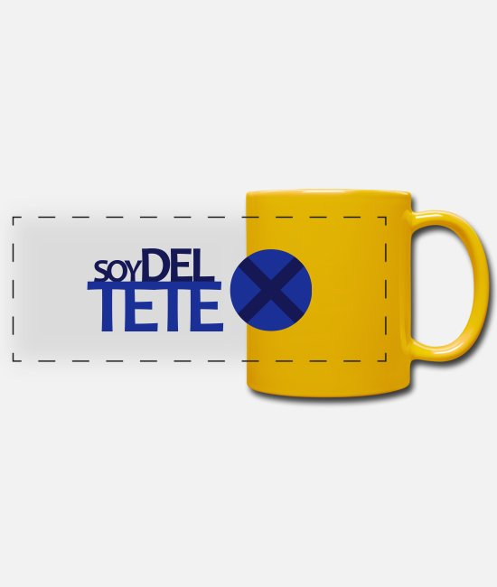World Champion Mugs & Drinkware - Tenerife - Panoramic Mug sun yellow