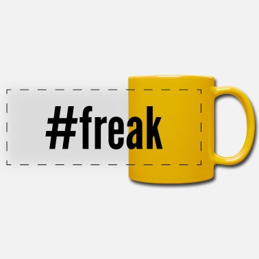 Freak #freak - Panoramic Mug