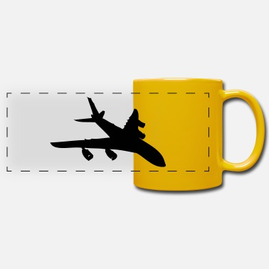 Aircraft Aircraft - Panoramic Mug