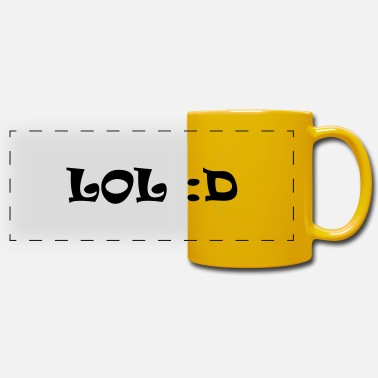 Lol lol - Panoramic Mug
