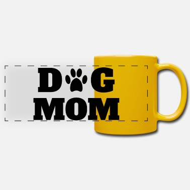 Dog Mom Dog Mom Dogs Mom - Panoramic Mug