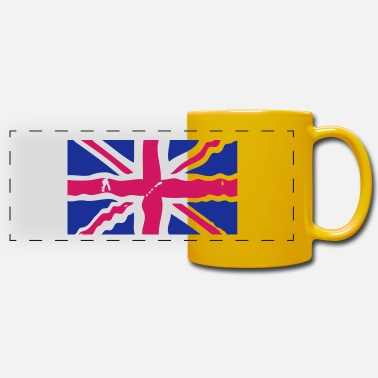 Jack union jack flag drapeau2 - Mug panoramique