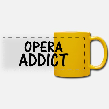 Opera opera addict - Panoramic Mug