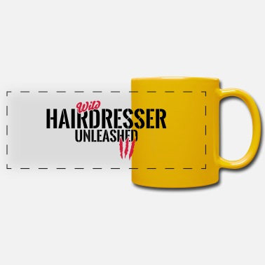 Friseurmeister Cheveux sauvages unleashed - Mug panoramique
