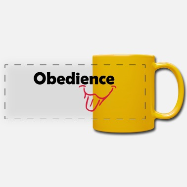 Obedience Obedience is Fun - Panoramic Mug