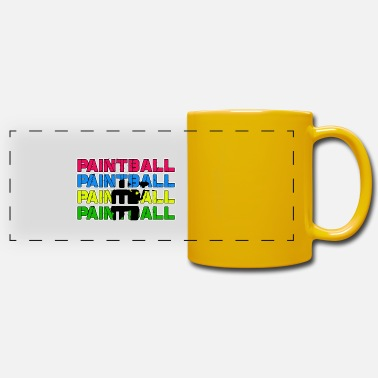 Paintball Paintball Paintball Paintball Paintball - Mug panoramique