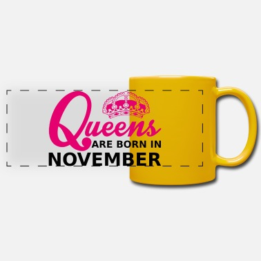 November queens are born in november - Panoramamugg