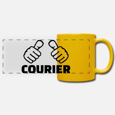 Courier Courier - Panoramic Mug