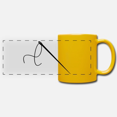 Thread Needle and thread - Panoramic Mug
