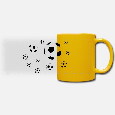 Football - Panoramic Mug