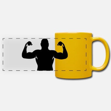 Muscles muscles - Panoramic Mug