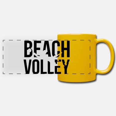 Volley beach volley - Panoramic Mug