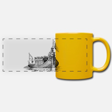 Saliboat boat sailing boat uboot sailboat sailing yacht - Panoramic Mug