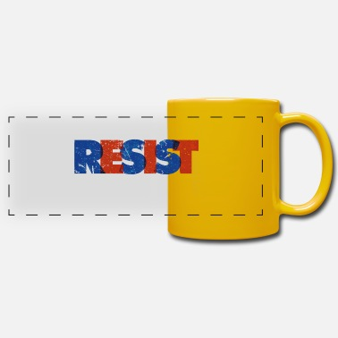 Distress Resist Distressed - Panoramic Mug