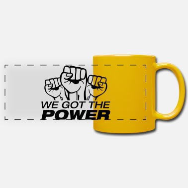 996 we_got_the_power_fa1 - Panoramic Mug
