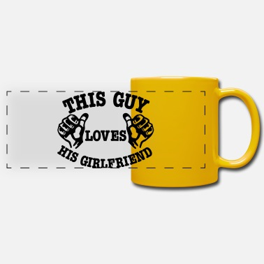 Girlfriend girlfriend - Panoramic Mug