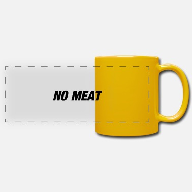 No Meat no meat - Panoramic Mug