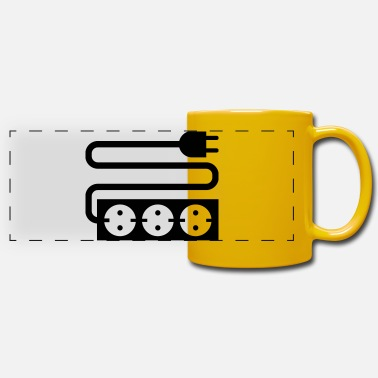 Socket socket - Panoramic Mug