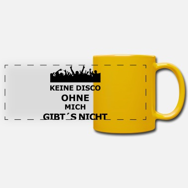 disco - Mug panoramique
