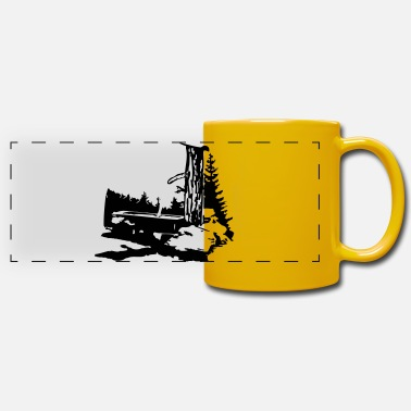 Thirst Quencher drinking trough - Panoramic Mug