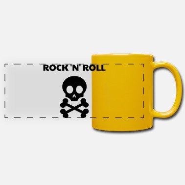 Rock N Roll Rock / Metal / Punk / Rock 'n' Roll - Taza panorámica de color