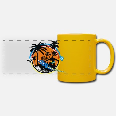 surfer - Panoramic Mug
