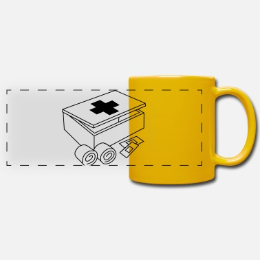 First first-aid _kit_c1 - Panoramic Mug
