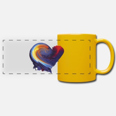 My Heart My heart - Panoramic Mug