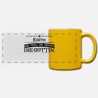 Edith birthday goettin Edith - Panoramic Mug