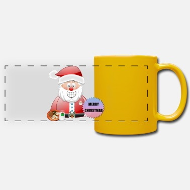 Job Underwear Santa 16 Merry Christmas - Panoramic Mug