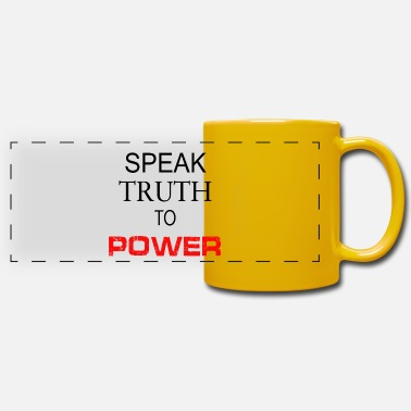 Philosophy Spreak Truth to Power - Panoramic Mug