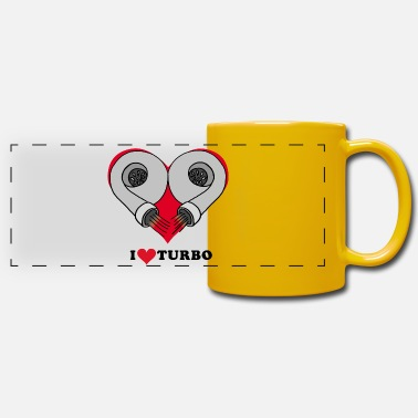 I love turbo - Panoramic Mug